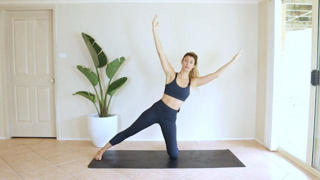 Pilates Flow Obliques, Back, Legs, Abs, and more Obliques