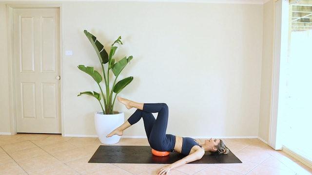 25 Minute Full Body Pilates - Ball + Band