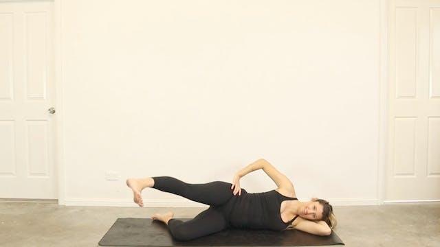 23 Minute Full Body Pregnancy Pilates...
