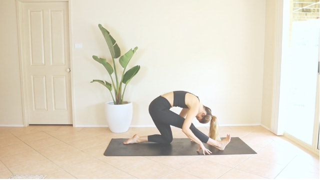 9 Minute Lower Body Stretch for the Hip Flexors, Hamis, Glutes and Inner Thighs