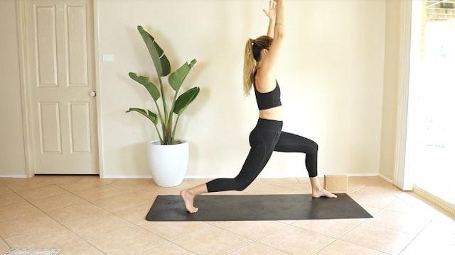 15 Minute Prenatal Yoga Flow