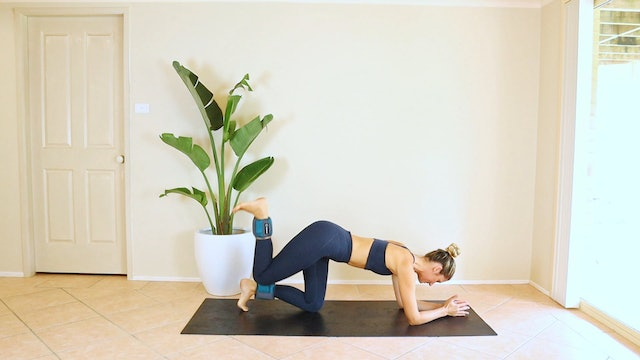 14 Minute Peach Lift with Ankle Weights
