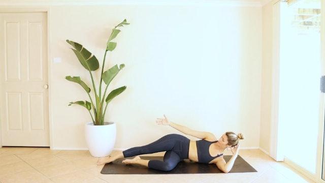 18 Minute No Props Full Body Pilates