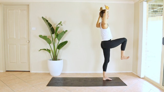20 Pilates Flow with Dumbbells