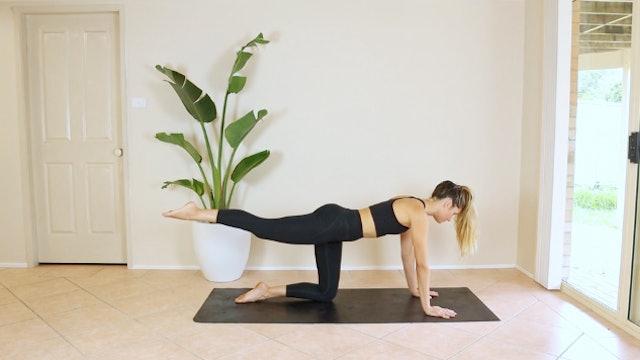 17 Minute Full Body Prenatal Pilates