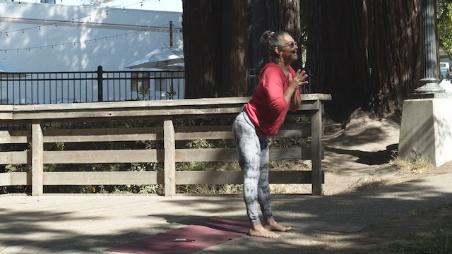 Outdoor Yoga at Creek Park | Wendy | 6/6/21