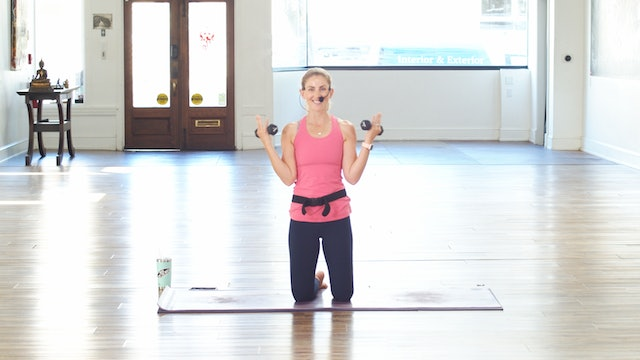 Low Impact Upper Body and Back Strength Training Express   Megan