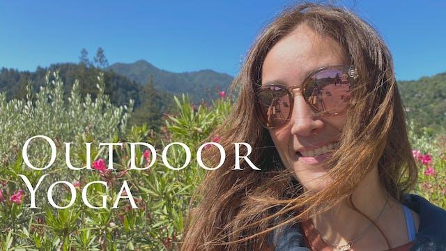 Araceli | Outdoor Yoga | 5.22