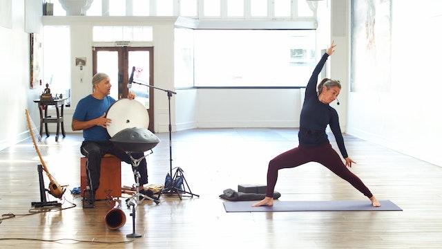 Sunday Service Yoga Flow Live w/Music   Wendy   4/11