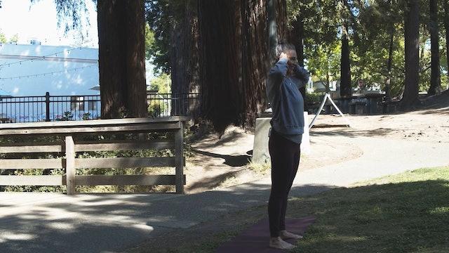 Wendy | Outdoor Yoga | 5.23