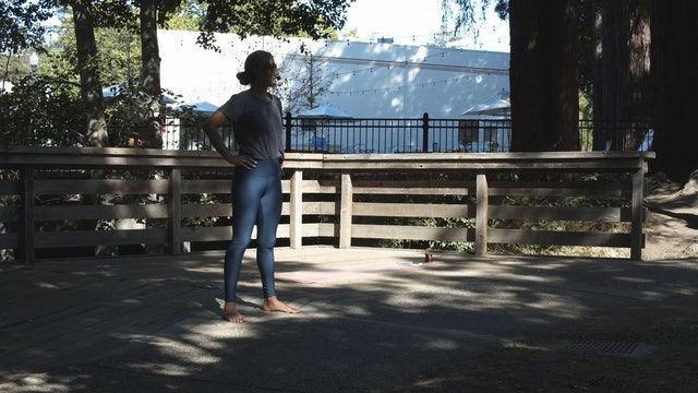 Outdoor Yoga at Creek Park | Araceli | 6/26/21
