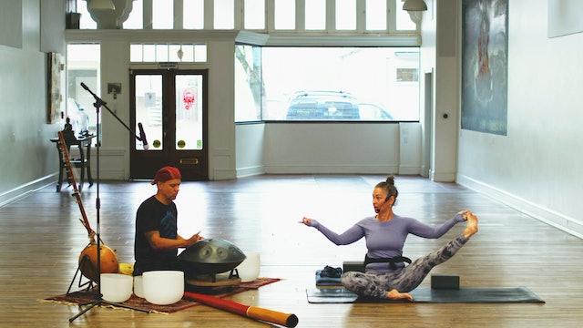 Sunday Service Yoga Flow Live w/Music | Wendy | 4/25