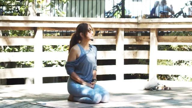 Outdoor Yoga Flow | Creekside Park | Araceli | 6/12