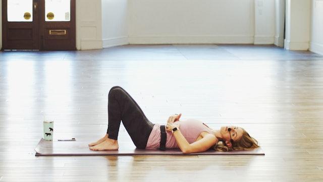 Mat Pilates Spinal Alignment | Megan