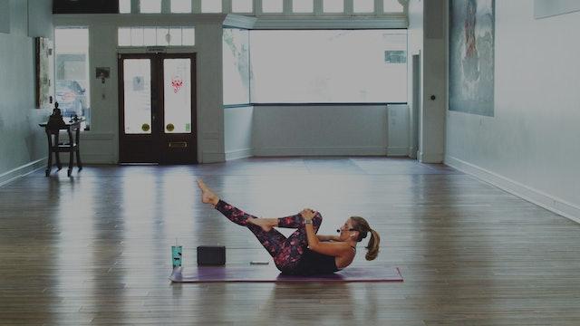 Day 6 Mat Pilates: 20 Minutes