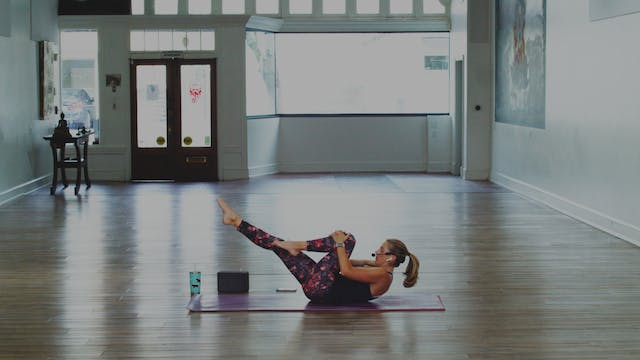 Mat Pilates Express | Megan | 10/31