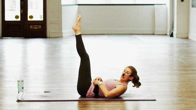 Mat Pilates The Hundreds | Megan