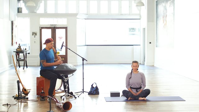 Sunday Service Yoga Flow Live w/Music...