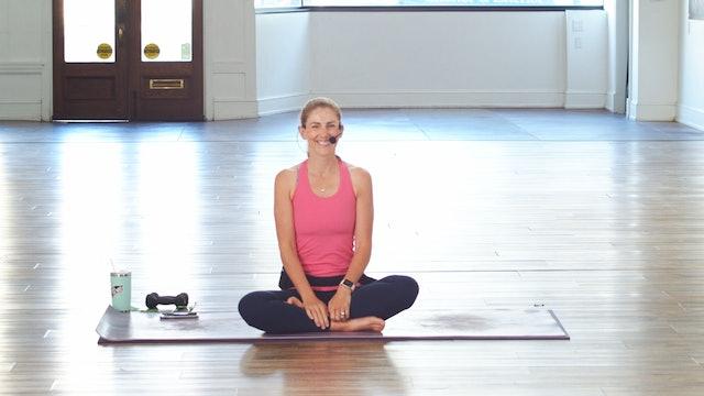 Mat Pilates Express | Megan | 4/12
