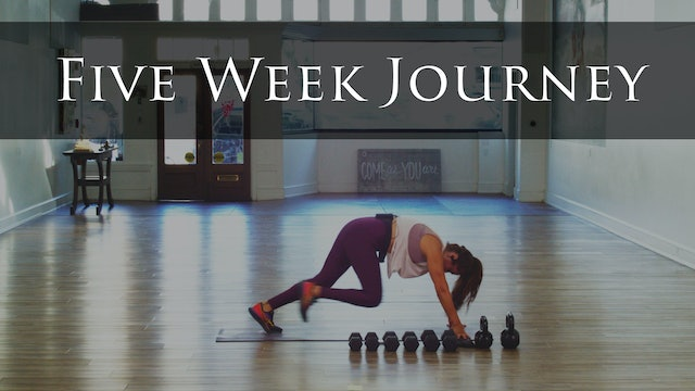The 5 Week Journey