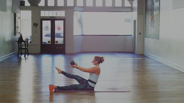 Day 6 Gratitude Practice Mat Pilates - Listening: 30 Minutes
