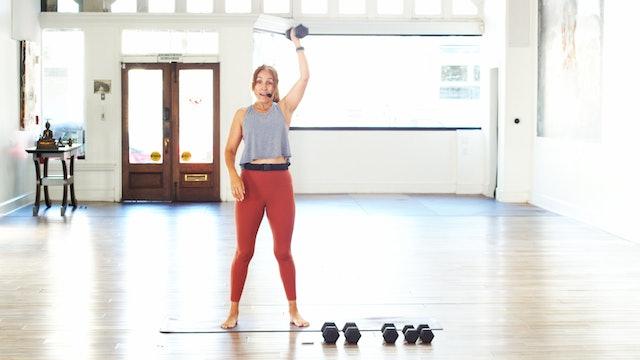 Strength & Cardio Bootcamp | Araceli |  6/24/21
