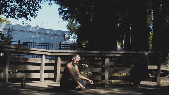 Outdoor Yoga Flow at Creekside | CayC...