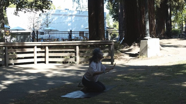 Outdoor Yoga at Creek Park | Wendy | 6/27/21