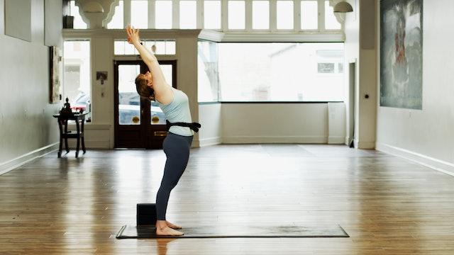 Yoga Basics Warrior Flow | CayCay | 2/23