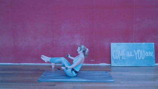 Feature| Mat Pilates | Megan