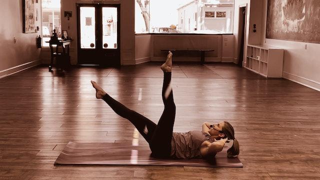 7/13 Mat Pilates w/Megan