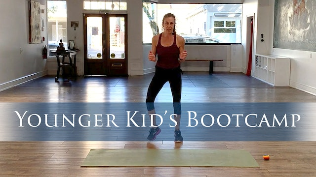 Kid's Bootcamp with Jessica (Younger Kids)