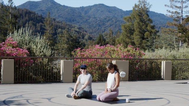 Geneva Terrace Outdoor Yoga | CayCay...