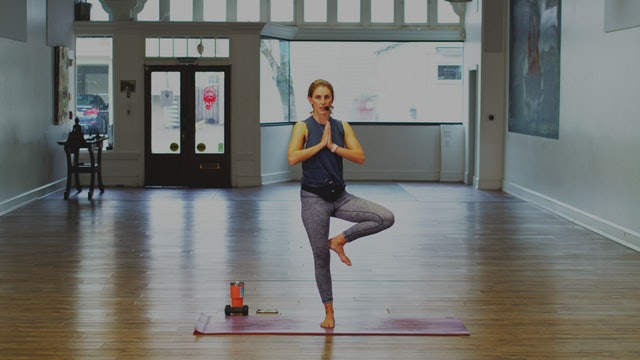 Mat Pilates: Standing & Balance Work | Megan | Day 5
