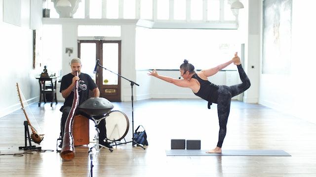 Sunday Service Yoga Flow Live w/Music   Wendy   5/9