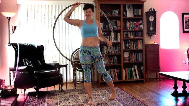Hula Hooping | Josie | Beginning Basic Movement