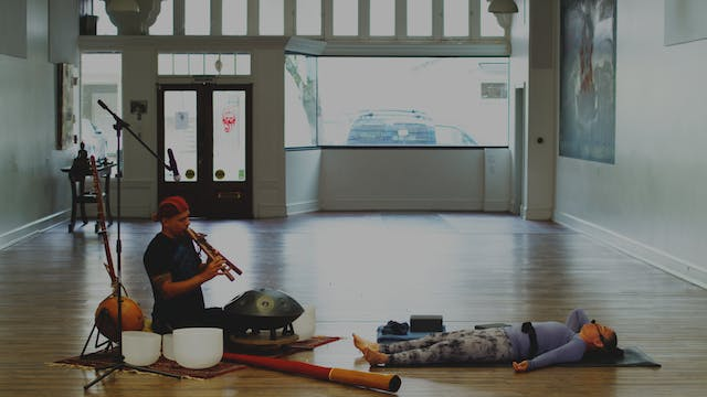 Yin/Yang Flow with Live Music | Wendy...