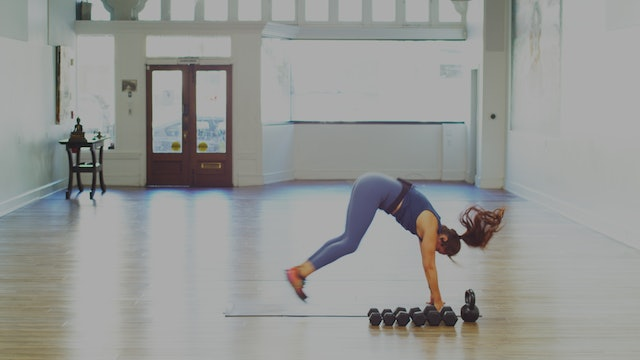 Full Body HIIT & Weight Strengthening Bootcamp: 45 Minutes