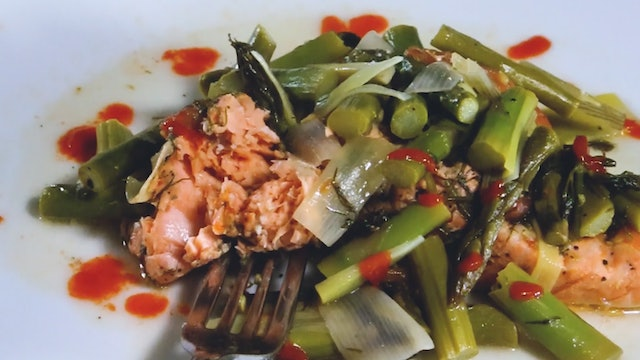 Slow Fuel - Salmon and Asparagus
