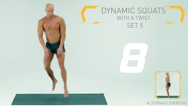 SPEED SETS Dynamic Squats