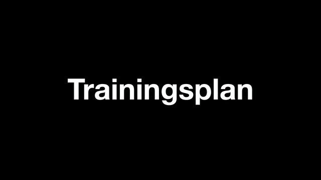 Cycle 7 Woche 5 Trainingsplan (DE)