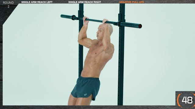 SUPERSETS Pull Up with Single Arm Reach