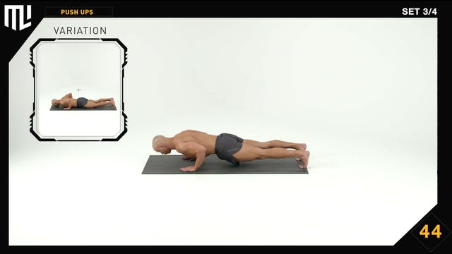 INTERVAL SETS Classic Push Up