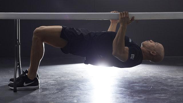 Stufenintervall Workout 2 (DE): Let Me Up, Push Up, Pistol Squat