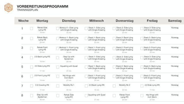 8 Wochen Trainingsplan (DE)