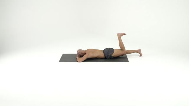 Stack 1- Front Lying with Step Ups