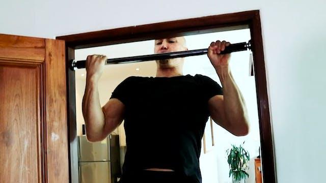 Push Pull Ladder with Split Squats