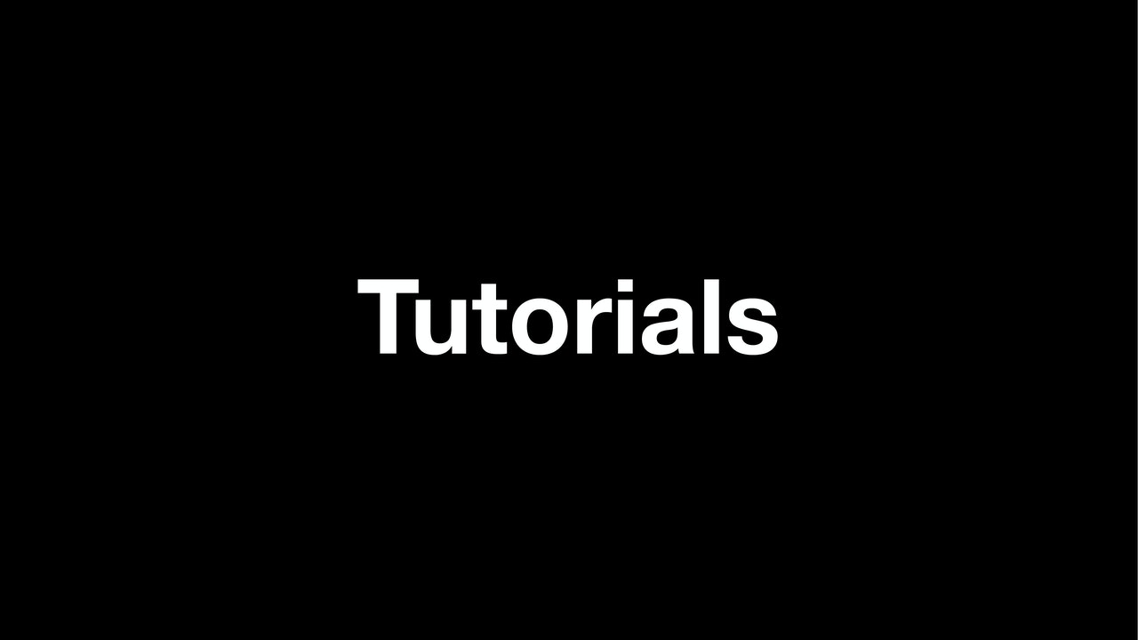Detailed Exercise Tutorials