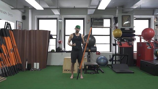 Hip Flexor PAILs/RAILs Deep Lunge - Stick Mobility - Markow Training