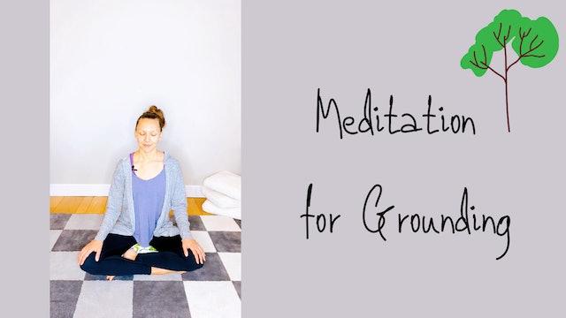 Meditation for Grounding